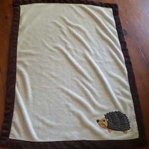 Sweet Soft Blanket Hedgehog or Porcupine